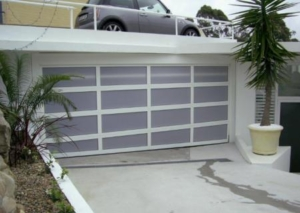 Acrylic Sectional Overhead Garage Door