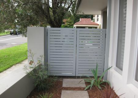 Aluminium Pedestrian Gate - Northern Beaches