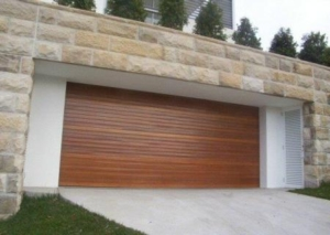 Blackbuttin Continuous Garage Door