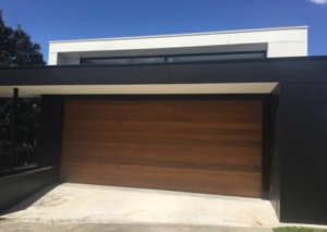 Sectional Red Cedar Garage Door