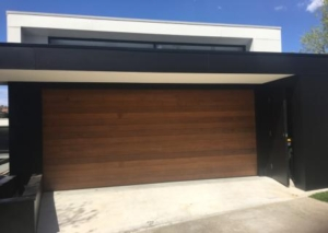 Sectional Red Cedars Garage Door