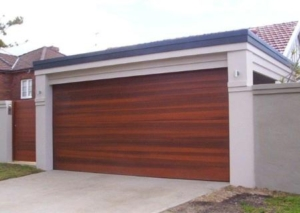Western Red Cedar Garage Door