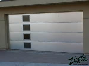 Garage door small side windows